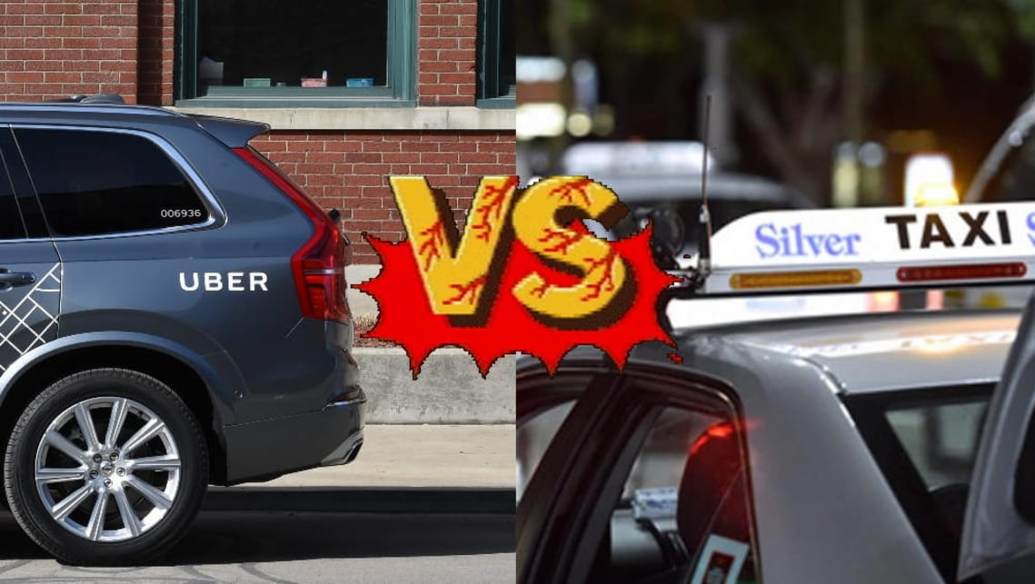 Uber Xl Vs Suv >> Uber Vs Taxi Who Wins And Why Carsguide