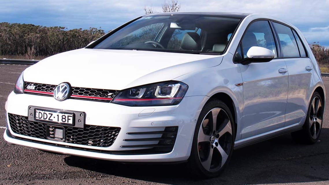 2016 Volkswagen Golf GTI. Picture credit: Tim Robson