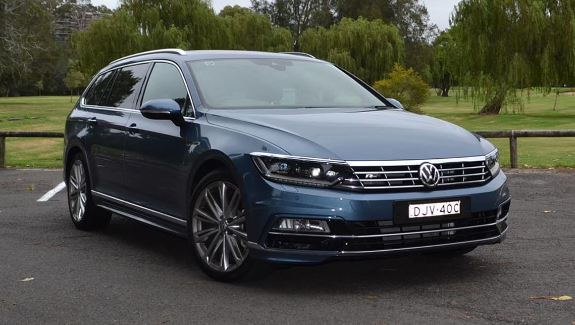 Vw Passat 206 Tsi R Line Wagon 2017 Review Carsguide