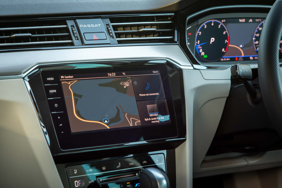 The 162 TSI Premium gets a 9.2-inch multimedia system.