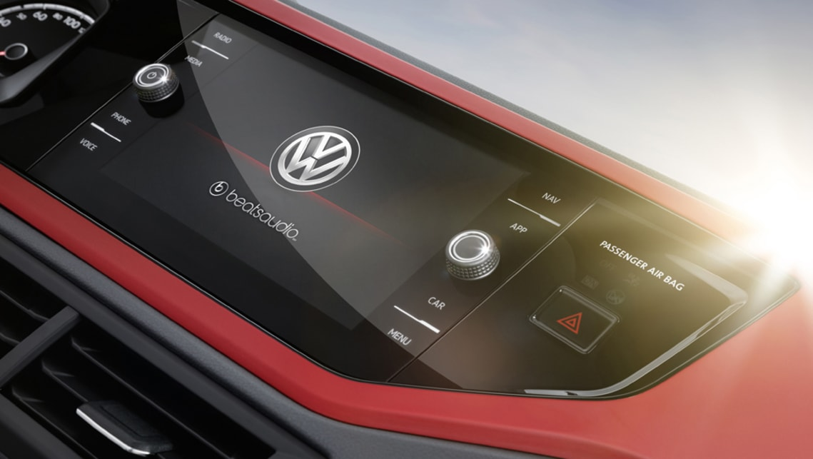 Volkswagen Australia has confirmed the Beats, which features a 300-watt sound system, will be coming to Australia.