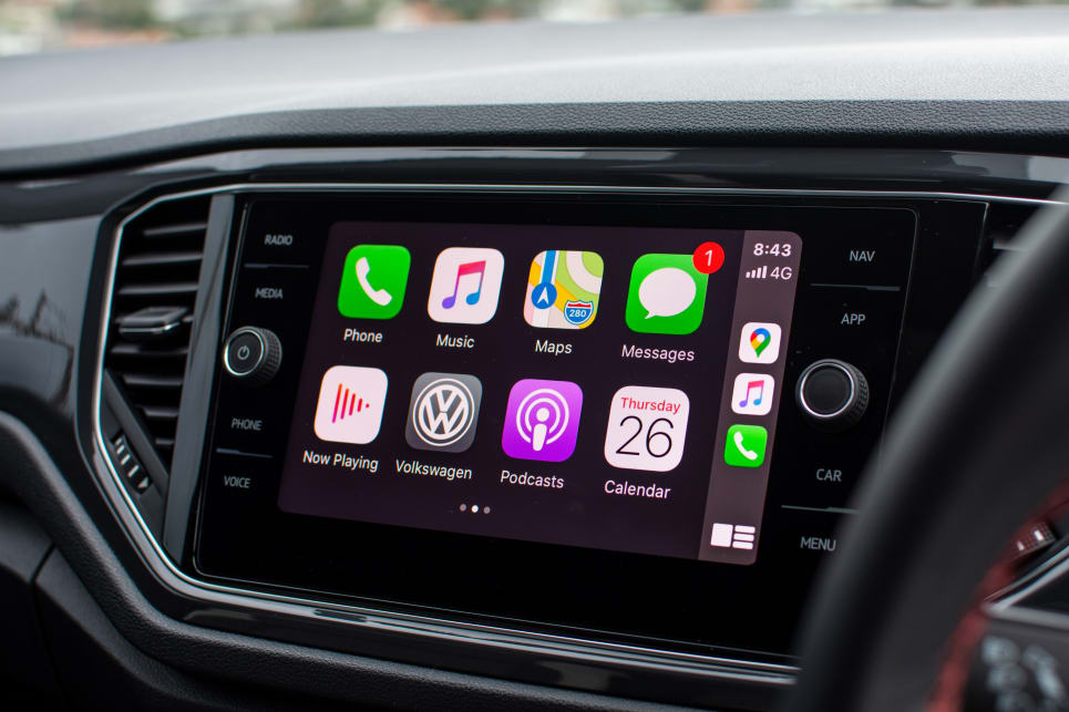 The base car has everything you need, including Apple CarPlay and Android Auto.