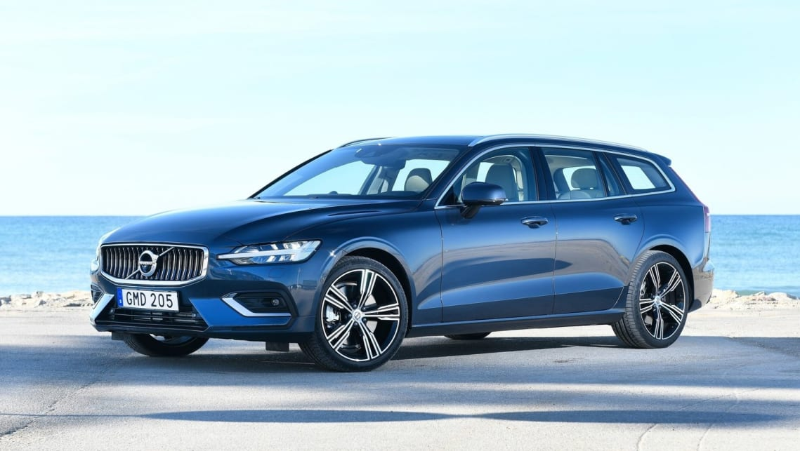 The new V60 combines the best of the Volvo's wagon tradition with cutting edge style and tech.