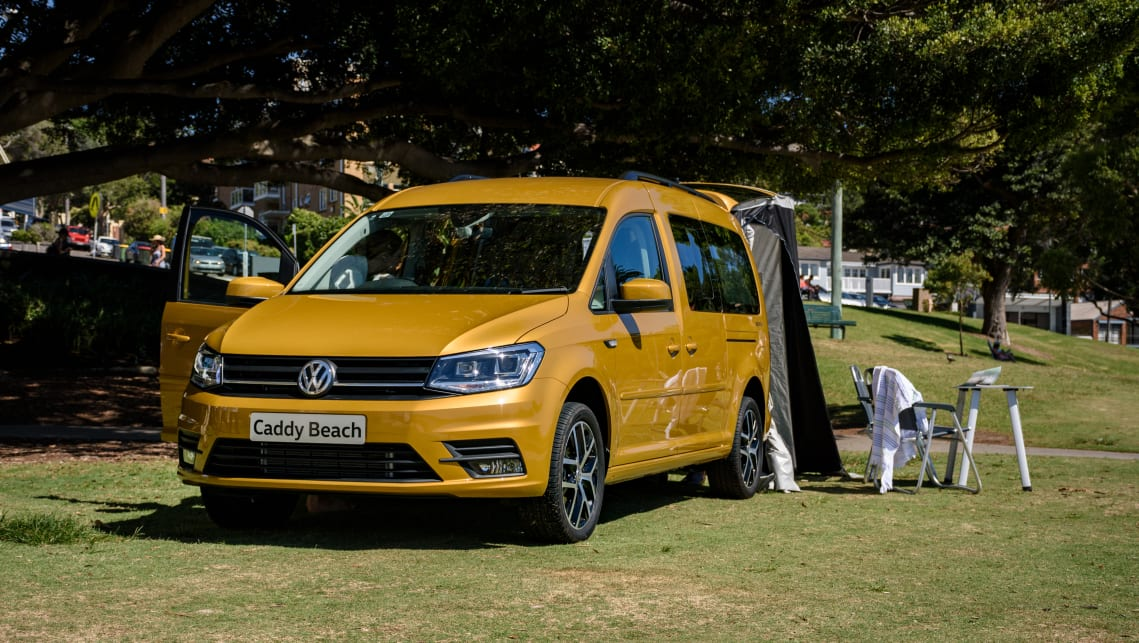 Volkswagen Caddy Beach 2019 More Vw Campers Likely Car News Carsguide