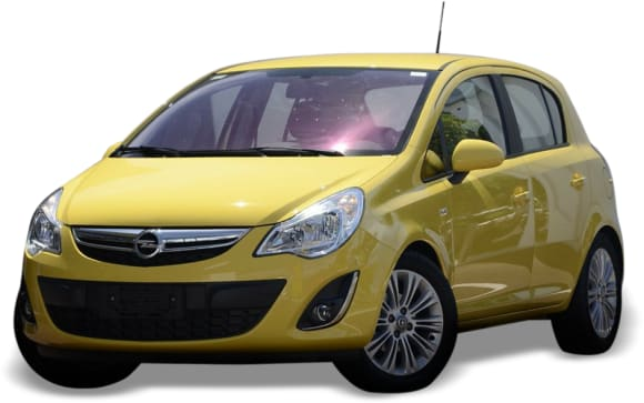 2012 Opel Corsa Hatchback (base)