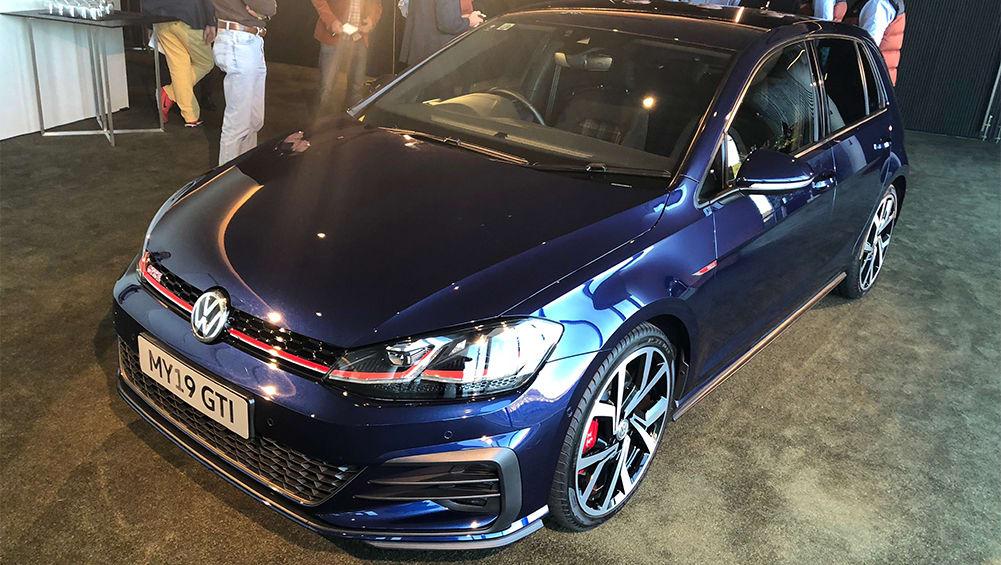volkswagen golf gti  price  spec confirmed car news carsguide