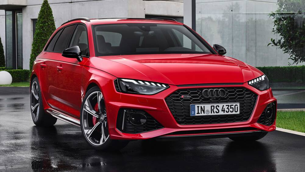 audi rs4 avant 2020 revealed  updated multimedia system for bmw m3