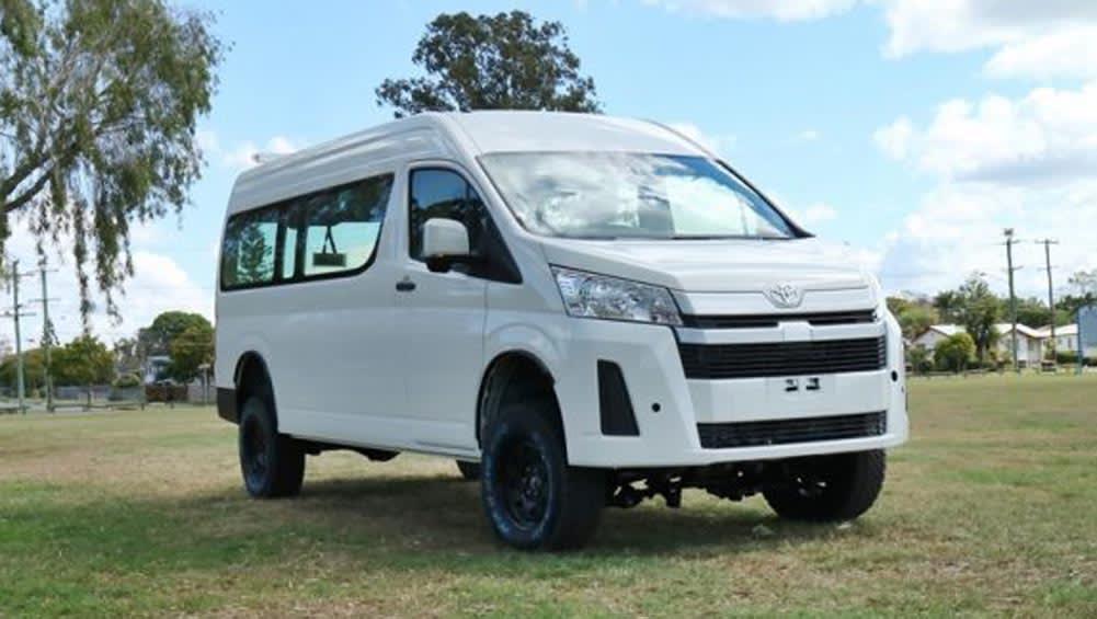 toyota hiace 2020 gains four-wheel drive option