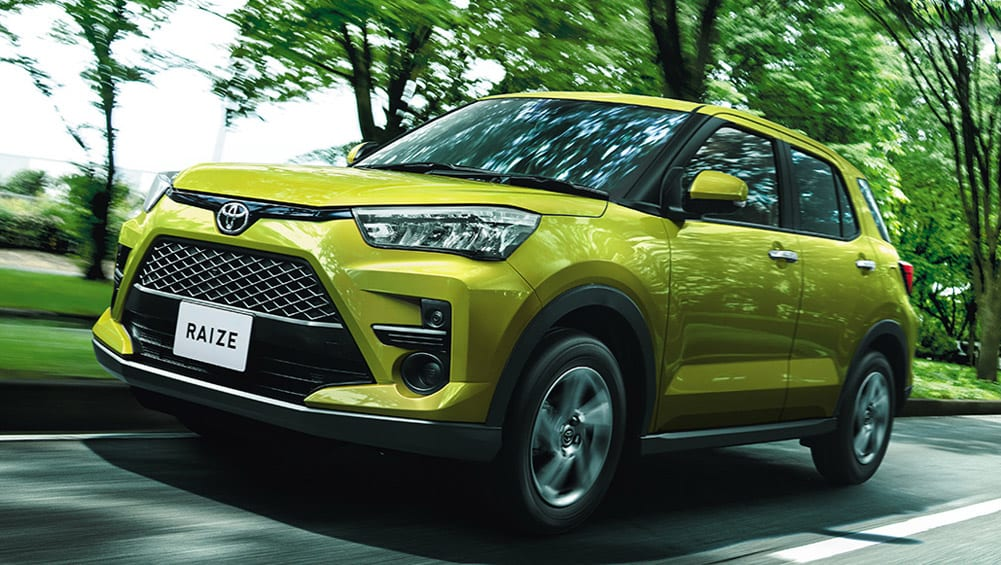 toyota raize 2020 detailed: another japanese small suv