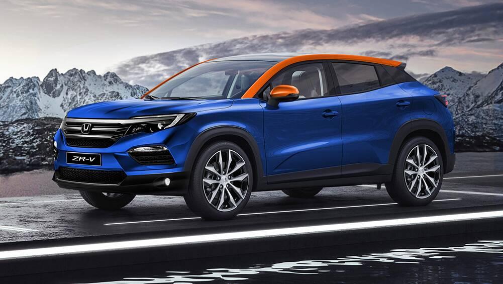 New Honda ZR-V 2021 trademarked in Australia! Compact SUV ...