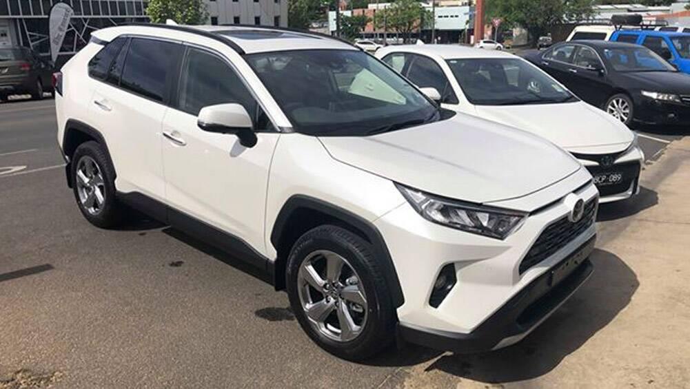 Toyota RAV4 2020 stop sale ordered