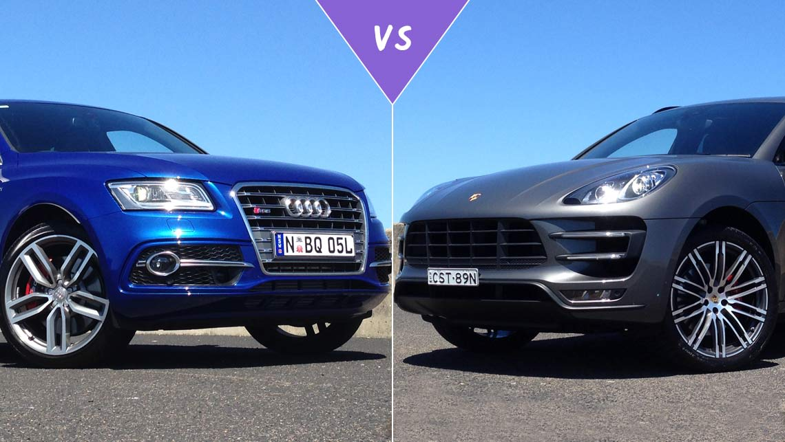 Audi SQ5 vs Porsche Macan Turbo Review