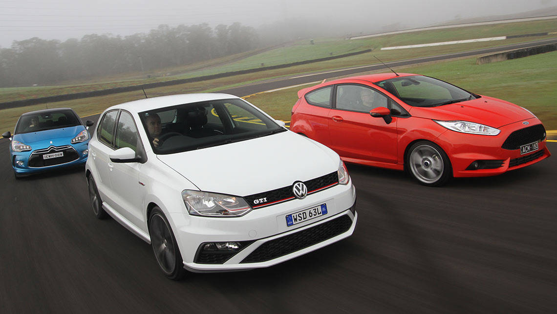 Volkswagen Polo, Citroen DS3 and Ford Fiesta 2015 review