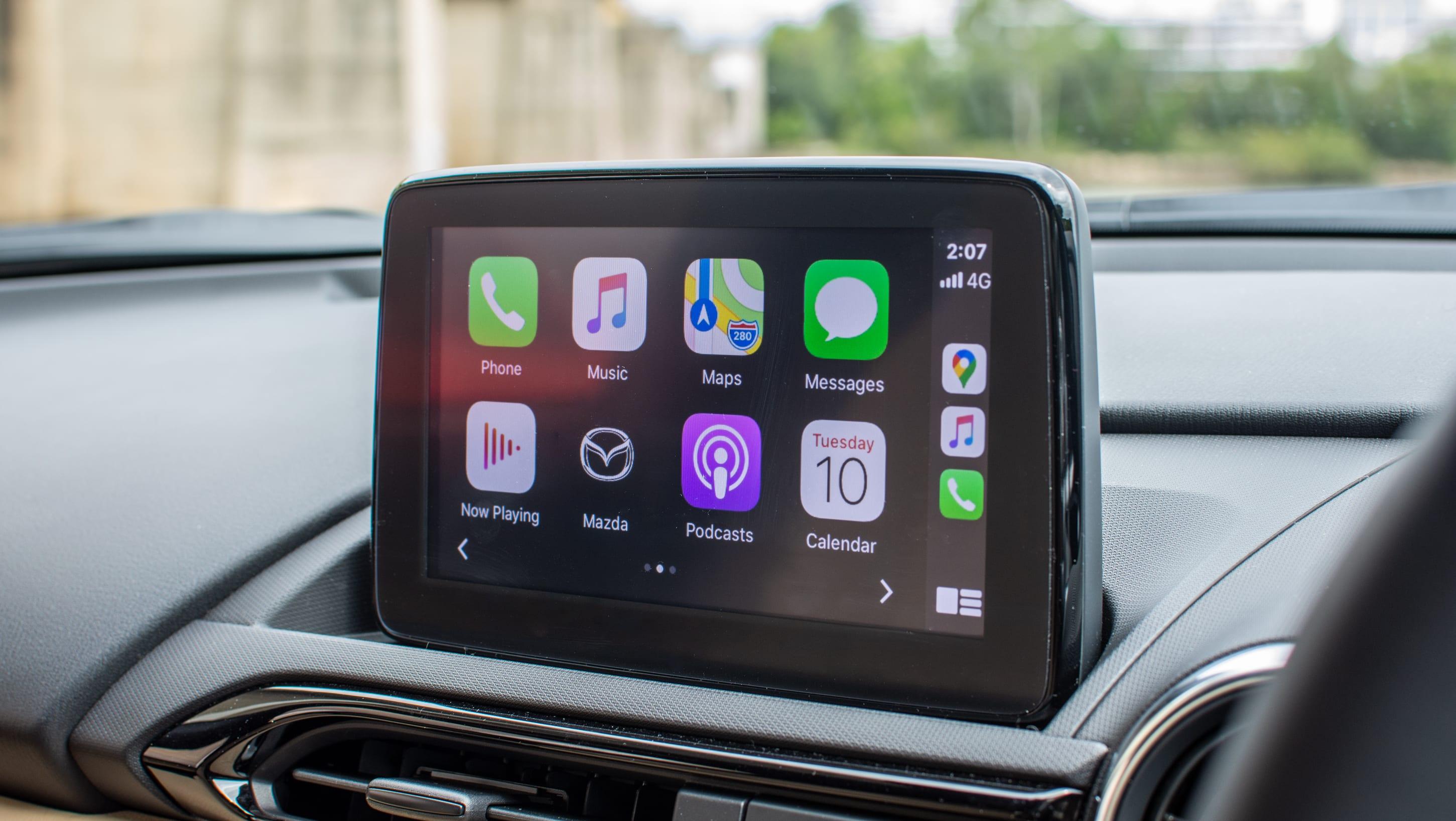 mazda 2 android auto 2018