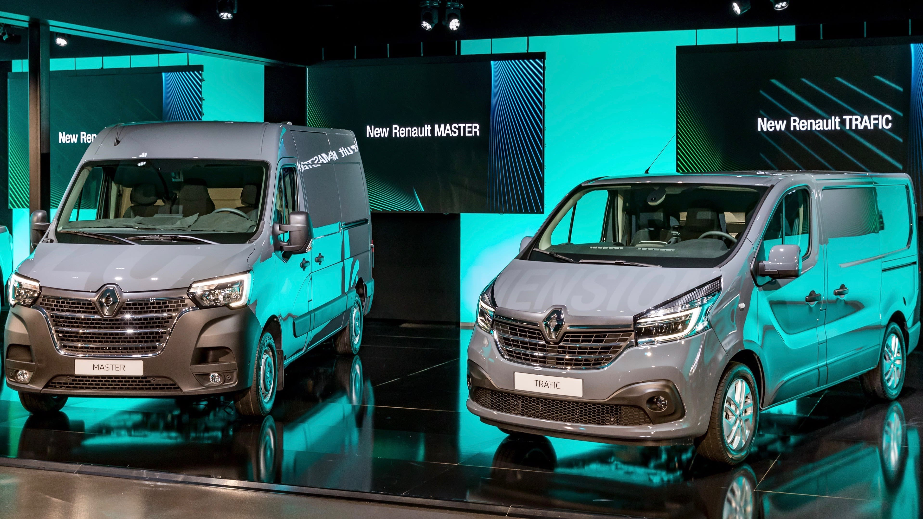 Renault Master And Trafic Updated Here In Q4 2019 Car
