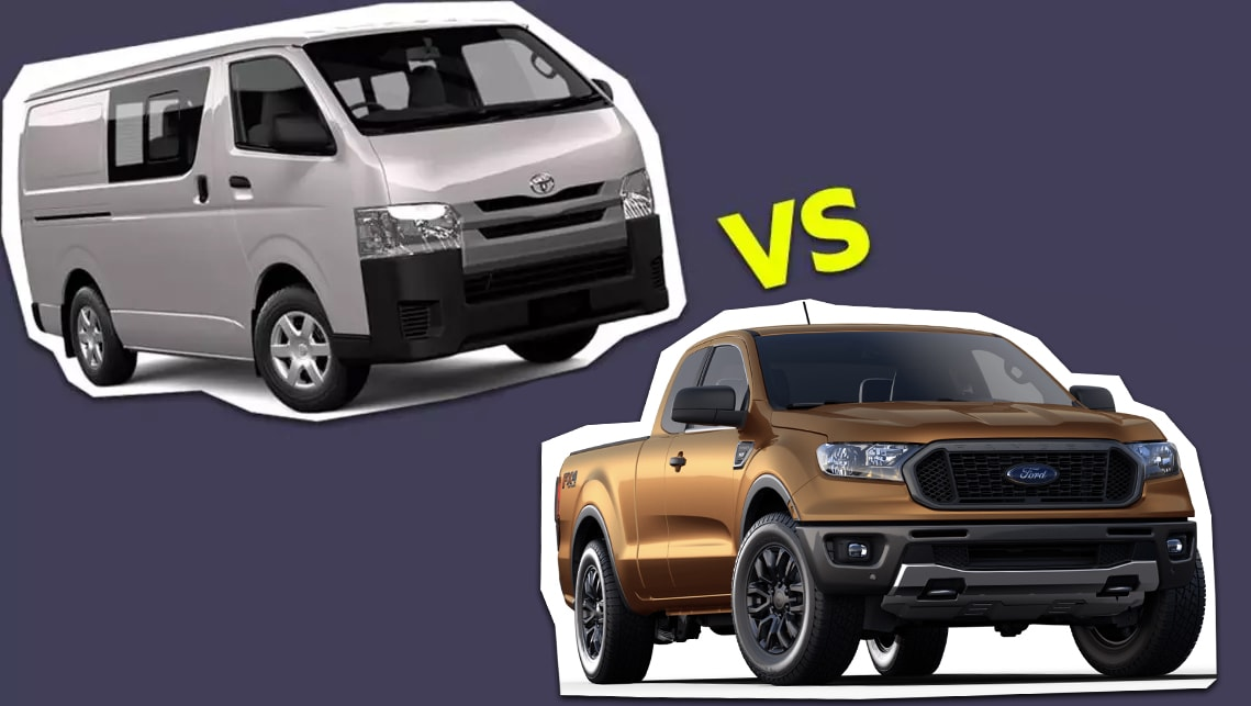 Dual-cab ute vs Crew van: 7 things you should know   CarsGuide