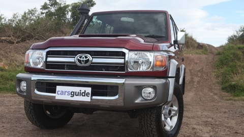 Toyota Land Cruiser Dimensions 1984 Carsguide