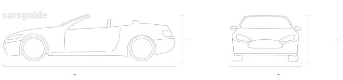 Dimensions for the Alfa Romeo Spider 1972 Dimensions  include — height, — width, — length.