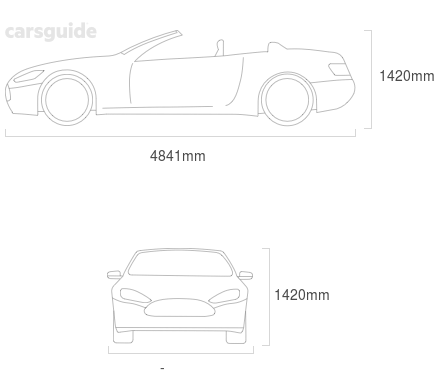 Dimensions for the Mercedes-Benz E350 2020 Dimensions  include 1457mm height, — width, 4841mm length.