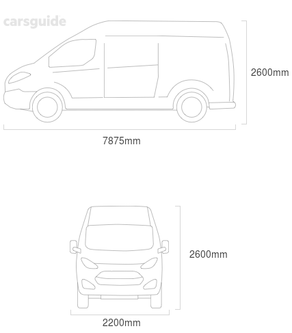 Dimensions for the Isuzu FSR 2017 Dimensions  include 2600mm height, 2200mm width, 7875mm length.