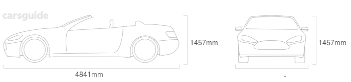 Dimensions for the Mercedes-Benz E-Class 2021 Dimensions  include 1457mm height, — width, 4841mm length.