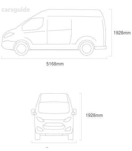 Dimensions for the LDV G10 2021 Dimensions  include 1928mm height, — width, 5168mm length.