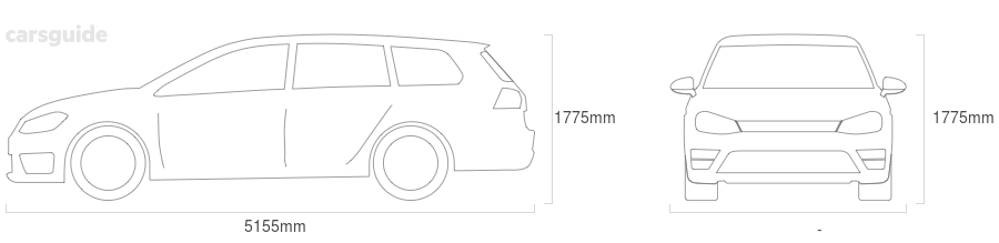 Dimensions for the Kia Carnival 2020 Dimensions  include 1775mm height, — width, 5155mm length.